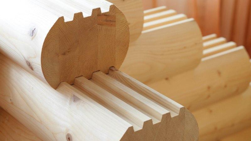 клееный брус для строительства бани