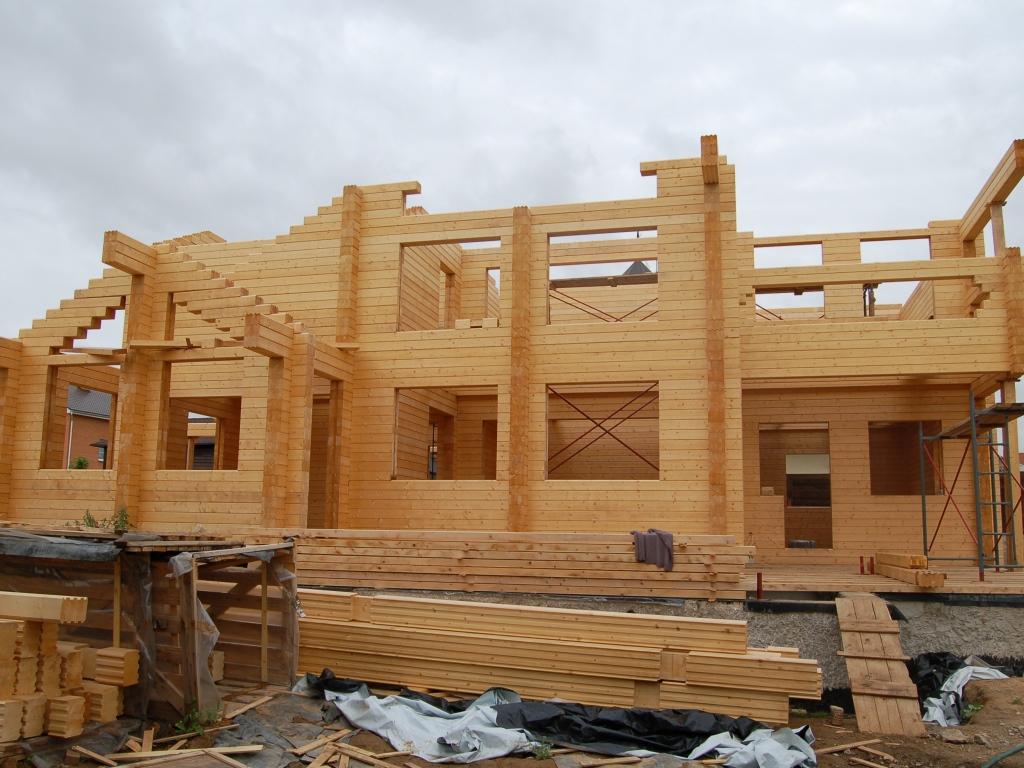 Как построить дом из бруса своими руками с фото