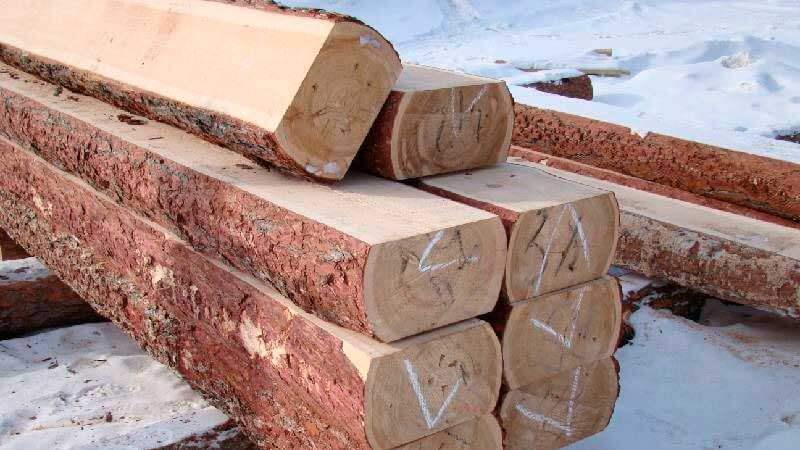 лафет из древесины хвойных пород