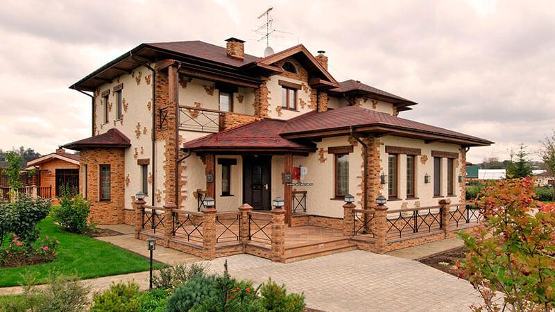 облицовочные материалы для фасадов домов