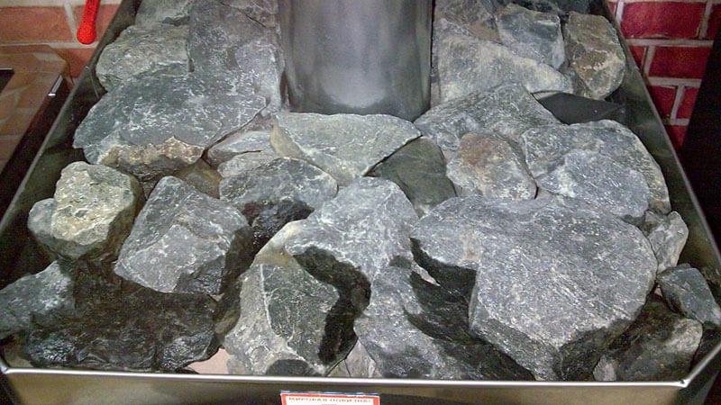 какие камни для сауны лучше
