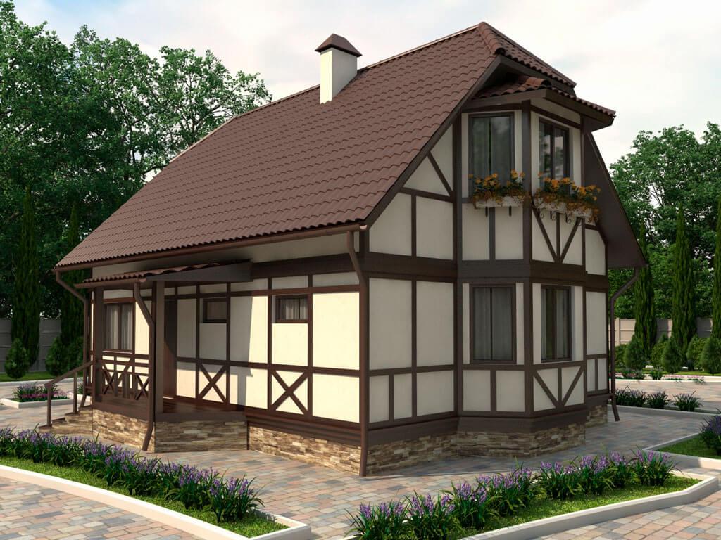 Технология строительства фахверк домов