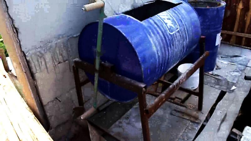 ручная бетономешалка